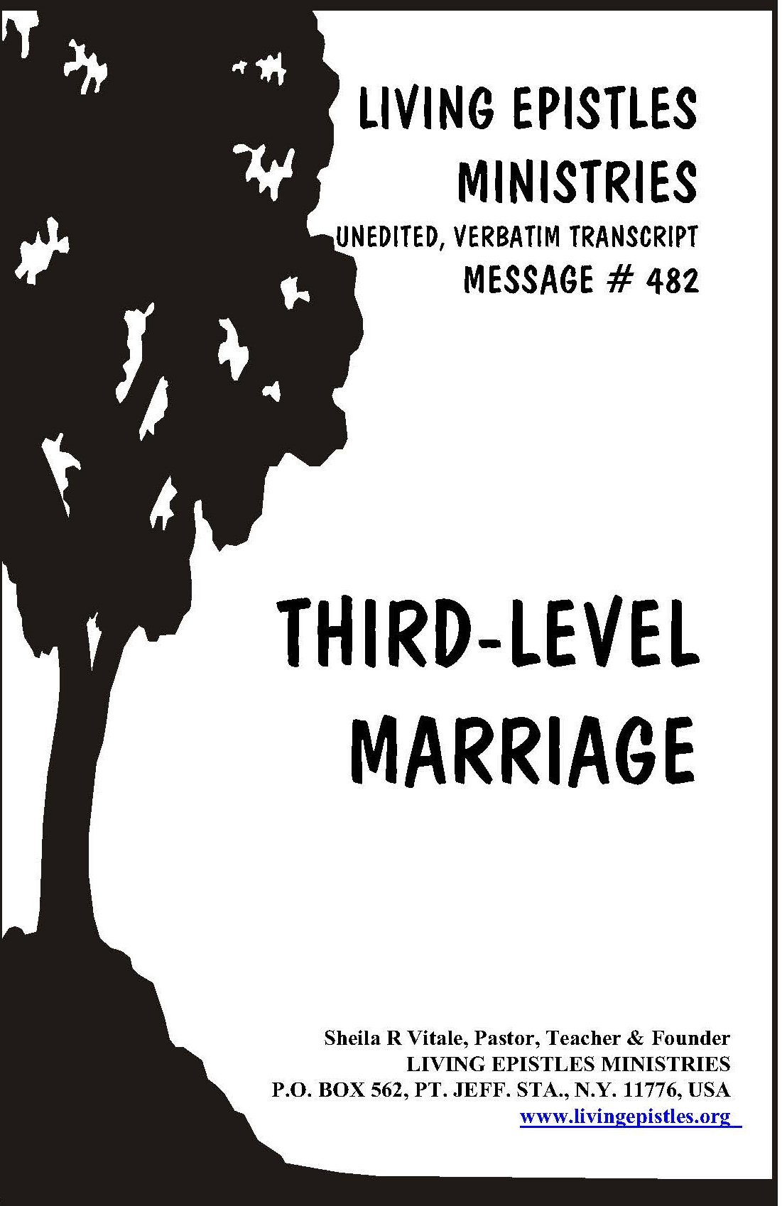 Third Level Marriage LEM 482 Cover 030216